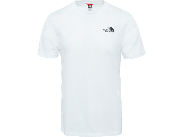 The North Face Simple Dome S/S Tee Herre tnf white